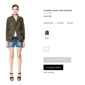 Zara-process-order-button