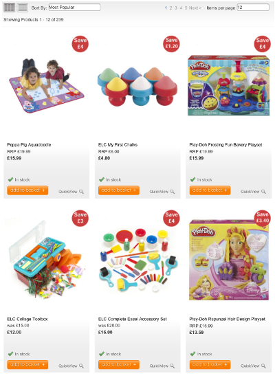 Mothercare-stock-availability-product-list-page