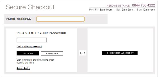 White_Company_secure_checkout